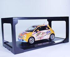 TC63 NEW Fiat 500 Michael Schumacher 1:18 1/18 Orange Diecast Car Model Norev LE