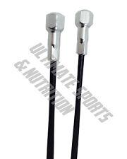 2pk DT Aerolite Flat Blade Straight Pull Spokes 309mm Black w Nipples for 29er