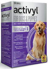 Activyl for Large Dogs Over 44 lbs-88 lbs - 6 Month Supply - FREE SHIPPING