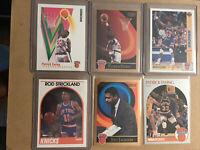 🏀💥🔥NBA 1989-90 Hoops+ UD + Skybox (6) Card Lot Inc.Ewing -NY Knicks -NM-Mint