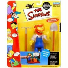 The Simpsons Series 4 Playmates Action Figure Groundskeeper Willie