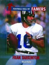 Football Hall of Famers: Fran Tarkenton, Hulm, David, Good Condition, Book