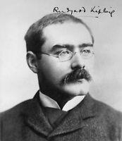 RUDYARD KIPLING - Repro-Autogramm - 20x23 cm - repro autograph signed