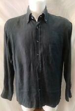 camicia uomo puro lino gran sasso taglia 50