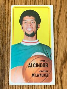 1970 Topps Basketball #75 Lew Alcindor