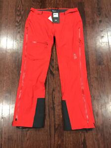 NWT MOUNTAIN HARDWEAR SUPERFORMA PANT Red Womens Size Medium  $300
