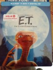 E.T. Blu-Ray Steelbook Anniversary LIMITED EDITION New last one