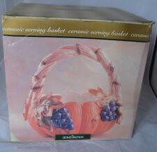 Vintage Home Trends Pumpkin Ceramic Basket Thanksgiving