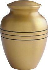 "Urn Cremation Brass Memorial 7"" Height Hand Engraved UrnConcern Funeral Urns"