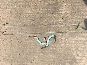 Vw Type 3 Fastback Rear Engine Boot/hatch Spring And Hinges