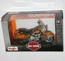 Maisto - Harley Davidson 1999 FLHR ROAD KING (Gold) - Model Scale 1:18