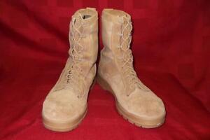 Military Boots 12.5R Bates Gore-Tex Desert Combat Tan Men Boys Work Hunt 360