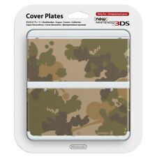 New Nintendo 3DS Cover Plate No.018 Camouflage NEW & SEALED!