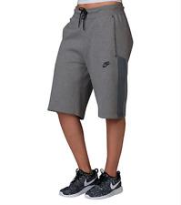 SZ XS COOL New NIKE Casual Women's Fleece Tech Shorts Gray 728263-091 $70