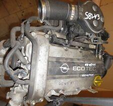 Opel Astra G 135TKM Motor X12XE Bj.98 48KW 64PS mit Anbauteilen - EA185