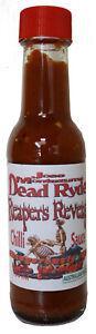 Reapers Revenge Chilli Sauce 150ML Carolina Reaper & Ghost  Danger Extreme Heat