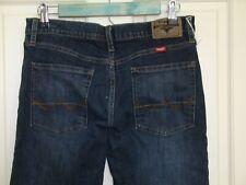 Wrangler Mens 30x30 (30x29.5) Distressed Slim Straight Flex Leg Jeans 63-16123