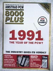 75379 Issue 63 Amstrad PCW 8000 Plus Magazine 1991