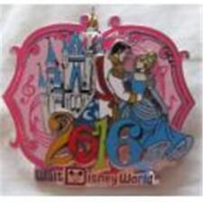 2016 Cinderlla & Prince Castle Wdw Disney Pin 113950
