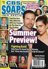 CBS Soaps In Depth Magazine - June 11, 2018 - Summer Preview, John McCook