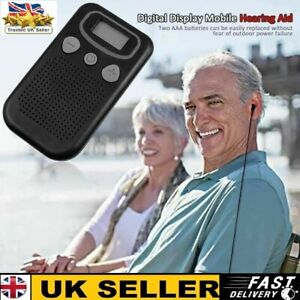 Personal TV Sound Amplifier Hearing Aids for The Elderly Hearing Loss Hearing