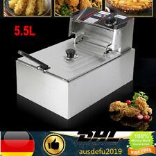 Elektrische Fettbackgerät Friteuse Fritteuse Fritöse Kochkünsten Deep Fryer DE