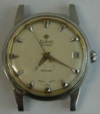 Vintage Zodiac Glorious Swiss automatic mens watch watch w. asymmetric date