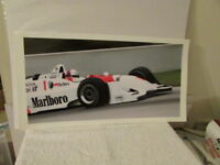 VINTAGE DEFERRAN  #1 MARLBORO INDY CAR ON TRACK PHOTO # 2