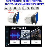 "8 Core Android 8.0 1+16G 9"" Double 2DIN Car Stereo Radio GPS Navi OBD TPMS WIFI"