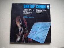 Victor Simon - cello Boccherini Cello Con Villa-Lobos