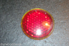 1939 Mercury Tail / Marker Light Lens NOS Glass Stimsonite Lens 2125  -  MEL469