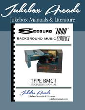 Seeburg 1000 BMC1 Rare Engineers Manual, Jukebox Arcade Exclusive!