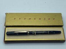 Vintage WAHL EVERSHARP Doric STENOGRAPHER  Fountain Pen Celluloid EF nib MINTY