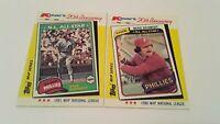 Phillies Mike Schmidt 1982 Topps Collectors Series MVPs + 83