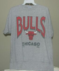 Chicago Bulls NBA Vintage Gray Chicago Bulls XL T-Shirt