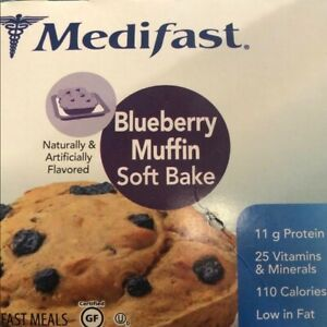 Medifast Soft Bakes Blueberry Muffin - 7 servings - OUT OF STOCK online OPTAVIA