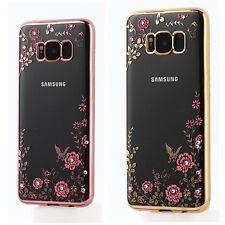 Funda carcasa tpu chapada cromada estampada para Samsung S7/S7edge/S8/S8+/Note 8