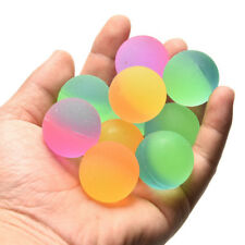 10pcs 27mm Colorful Rubber Elasticity Balls Bouncing Kids Outdoor Bath Toys