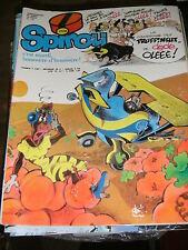 Spirou N° 2128 28/1/1979 Jacques Le Gall Docteur Poche Pauvre Lampil Truffineux