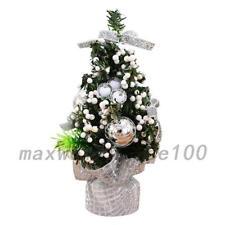 Desk Table Top Mini Christmas Xmas Christmas Tree Small Party Ornaments Decor PS