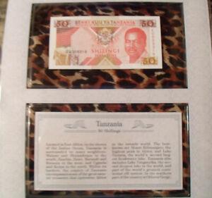 Sign 3 1978 UNC P-6c 2 Pcs PAIR Consecutive Tanzania 10 Shilling