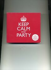 KEEP CALM AND PARTY - JUSTIN TIMBERLAKE PALOMA FAITH LITTLE MIX - 3 CDS - NEW!!