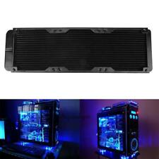 360mm Aluminum Computer Water Cooling System Radiator 18 Tubes Heat Exchanger