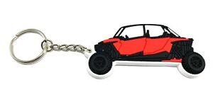 Polaris RZR XP1000 4 Seat 900 800 Turbo S Custom Design Key Chain Ring
