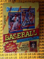 1991 Donruss Baseball Series 1 NEW Factory Sealed Unopened Wax Box 36 Packs