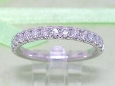 Brillant Ring 585 Weißgold 14Kt Gold  0,50ct H Si Memoire  Memory Wesselton