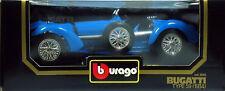 10 BURAGO BUGATTI TYPE 59 1934 BLEUE N°3005 1 18
