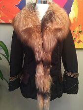 Women's Winter Jacket With Fox Fur