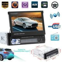 "1DIN 7"" Bluetooth Car Stereo MP5 Player AUX USB Radio Receiver In Dash Head Unit"