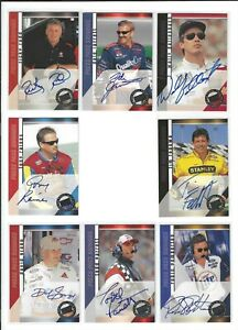 2000 Press Pass SIGNINGS Dale Jarrett  SWEET/SCARCE!--ONE CARD ONLY!